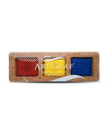 ArtGraf Primary Colours Water-Soluble Disc Set of 3