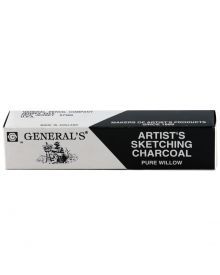 General Pencils Artist's Sketching Pure Willow Charcoal
