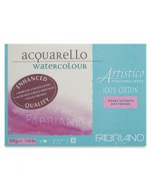 Artistico Traditional White Watercolour 300gsm/140lb Block HP 10 x 14 inch
