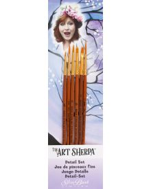Art Sherpa Detail Brush 6pc Set