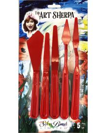 Art Sherpa Painting & Palette Knife 5pc Set