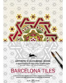 BARCELONA TILES: Artists' Colouring Books - Paperback