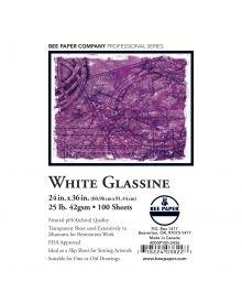 BEE-Glassine Paper - 24 x 36-Inch Sheet