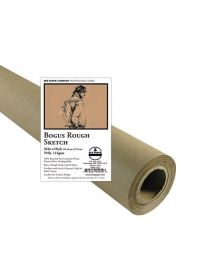 Bee Paper Bogus Recycled Rough Sketch Roll - 36-in x 10-yd.
