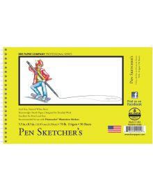 Bee Paper Pen Sketcher's 50 Sheets 70 lb, Pad - 5.5 x 8.5 Inch