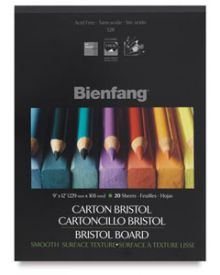 Bienfang Bristol (smooth) Drawing Pad 11 x 14 Inch