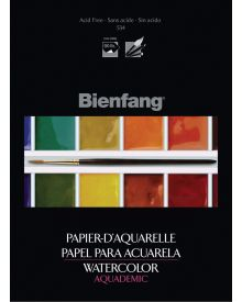 Bienfang Aquademic Watercolour Pad 9 x 12 Inch