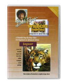 Bob Ross Wildlife Jaguar 40 minute DVD