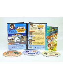 Bob Ross Wildlife 3 Disk Set