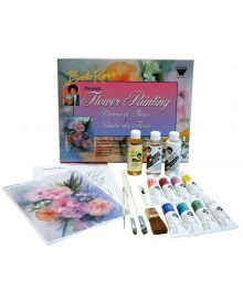 Bob Ross Floral Paint Set