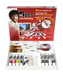 Bob Ross Master Paint Set with DVD
