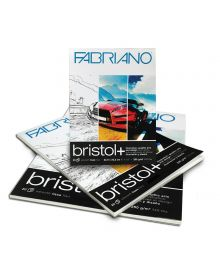 Fabriano Bristol + Smooth - 20 Sheet Pads