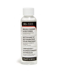 Winsor & Newton Brush Cleaner & Restorer 125ml