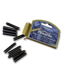 Panache Free-Flow Ink Cartrage Black (10 pk)
