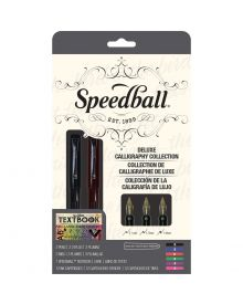 Speedball Calligraphy Collection Fountain Pen Deluxe Set