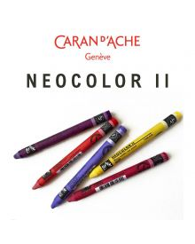 Caran D'ache Neocolor II Water-Soluble Crayons