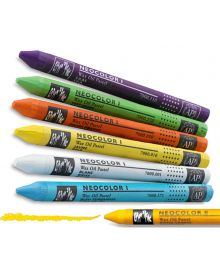 Caran d'Ache Neocolor l Wax Oil Pastels Crayons