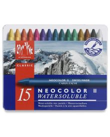 Caran d'Ache Neocolor II Water-Soluble Pastel Set of 15