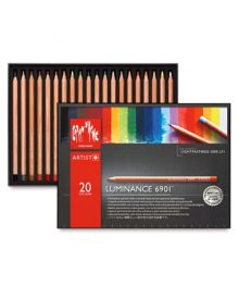 Caran d'Ache Luminance 6901 Pencil Set-20 Colours