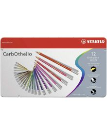 CarbOthello Pastel Coloured Pencil 12-piece Sets