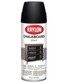 Krylon Spray Paint Black Chalkboard 12 oz Can