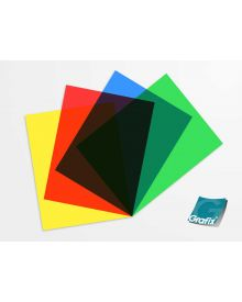Grafix Clear-Lay Assorted Colours