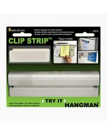 Hangman Clip It Strip – Paper Holder 6 Inch