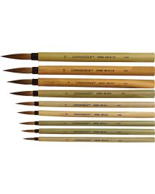 Connoisseur Bamboo Watercolour Brushes