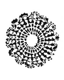 The Crafters Workshop Stencil Grandma's Doily