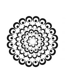 The Crafters Workshop Stencil Bubble Doily