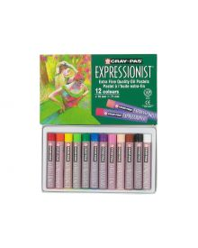 Cray-Pas Expressionist Assorted Colour Oil Pastel Set-12