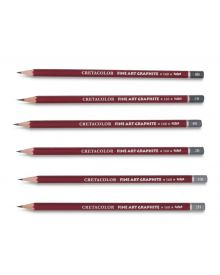 Cretacolor Fine Art Red Graphite Pencils