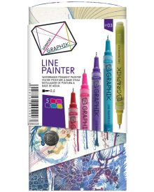 Derwent Graphik Line Painter Coloured Pens