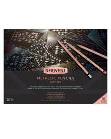 Derwent Metallic 20th Anniversary Gift Set of 20