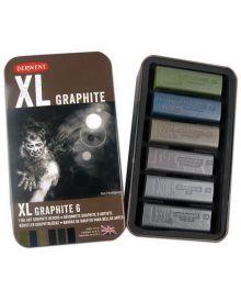 Derwent XL Graphite - 6 in pk
