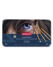 Derwent Lightfast Coloured Pencil Sets (36) Tin