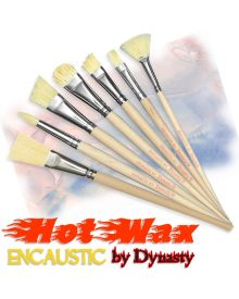 Encaustic-Hot Wax Brush Assortment