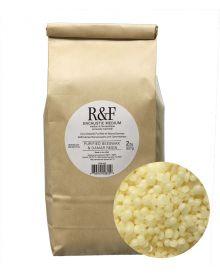 R&F Encaustic Purified Beeswax & Damar Resin Medium 2lb (907g) bag