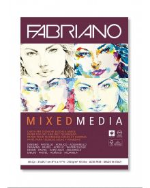 Fabriano Mixed Media 40 sheets Block - 8-1/2 x 11-1/2 inches