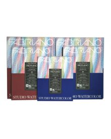 Fabriano Aquarelle Studio Watercolour Pads & Blocks