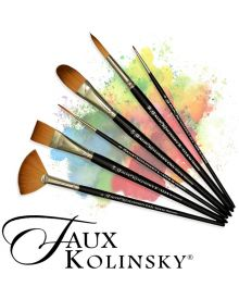 Dynasty Faux Kolinsky Series 1114 Brushes
