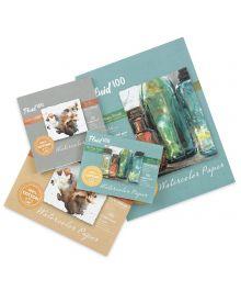 Fluid 100 Professional Watercolour Paper Sheets, Blocks & Pochettes