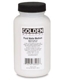 Golden Fluid Matte Medium - 8fl oz