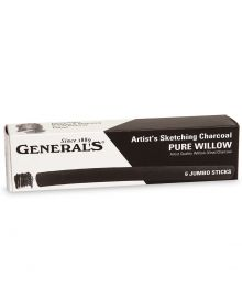 General's Pencil Jumbo Artist's Pure Willow Sketching Charcoal