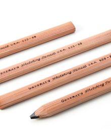 General's Sketching Flat Pencils