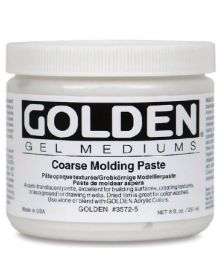 Golden Coarse Molding Paste 8oz - 250ml