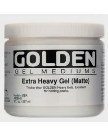 Golden Extra Heavy Gel Matte 8oz - 237ml