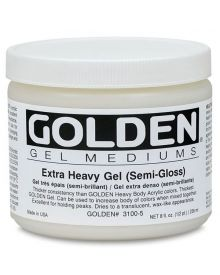 Golden Soft Gel Medium - Semi-Gloss 8oz - 237ml