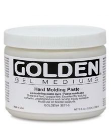 Golden Hard Molding Paste 8oz - 250ml