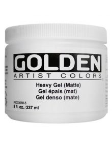 Golden Heavy Gel Matte 8oz 237ml